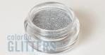 Metallic Silver Glitter