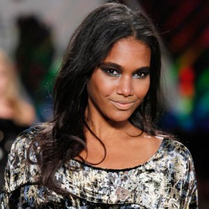 On the runway at Diane Von Furstenberg/New York Fashion Week
