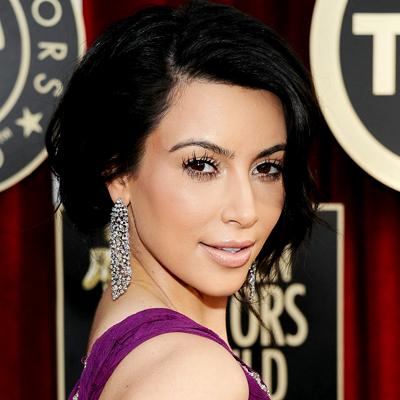 Kim Kardashian/InStyle.com