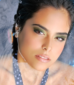 ColorOn really IS water-resistant! Makeup artist and photog Dani Buljan's work using ColorOn.