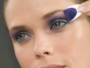 Painted Desert, a smokey plum and indigo look for hot summer nights...