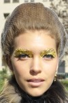 Fendi's Gold Leaf Eyes