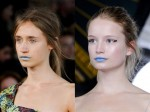 Mary Katrantzou and Richard Nicoll, Blue Lips