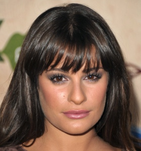 "Lea Michele's ""Alternative"" Smokey Eye"
