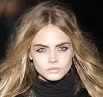 From New York to Paris, the runways were rampant with brows like this...