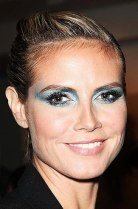 Heidi Klum, then...