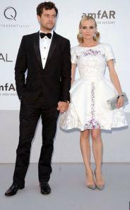 Diane Kruger & Joshua Jackson at amFar