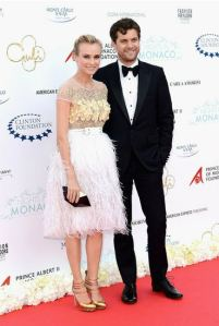 Diane & Joshua at Night in Monaco event