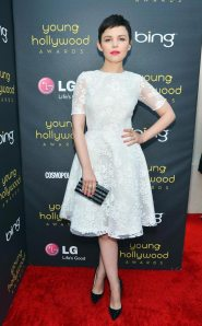 Ginnifer Goodwin in Monique Lhuillier at the Young Hollywood Awards