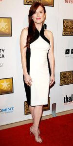 "Julianne Moore made every ""Best Dressed"" list for this sexy Jason Wu sheath"
