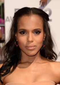 Kerry's makeup was simply gorgeous, though