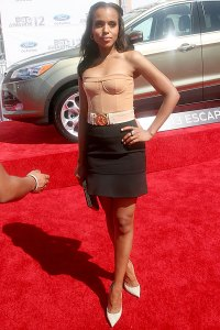 Kerry Washington's 2012 look drew mixed reviews...