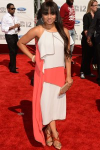 Kyla Pratt on the BET Awards red carpet