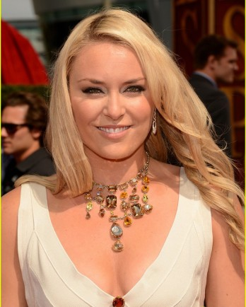 Lindsey Vonn up close at the ESPY Awards