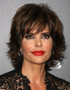 Lisa Rinna, breaking the cardinal rules of makeup
