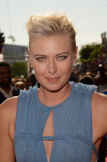 Maria Sharapova up close at the ESPY Awards