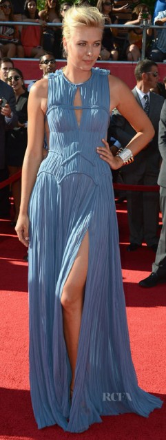 Tennis player Maria Sharapova on the ESPY Awards Red Carpet