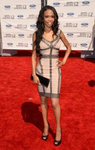 Michelle Williams on the BET Awards red carpet