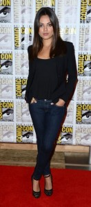 "Mila Kunis promoting ""Oz, The Great & Powerful"" at Comic-Con"
