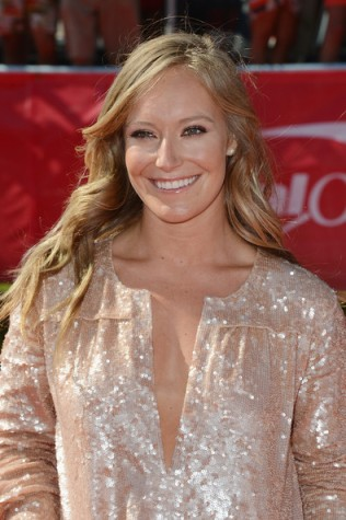 Jamie Anderson up close at the ESPY Awards
